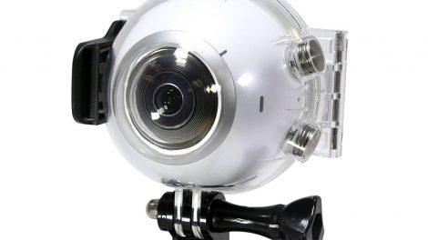 Samsung Gear 360 waterproof underwater housing now available