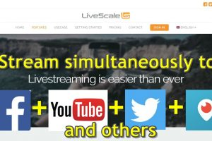 Stream to Multiple Services with LiveScale