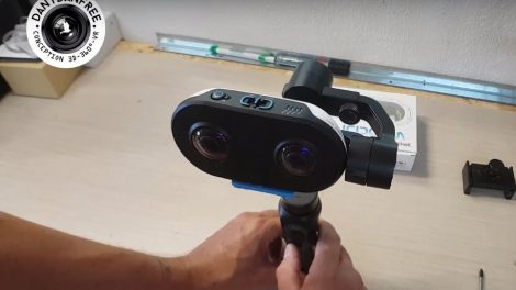 Stabilizing the LucidCam with a Zhiyun Smooth Q