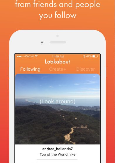 Lookabout aims to be the Instagram for 360 photos
