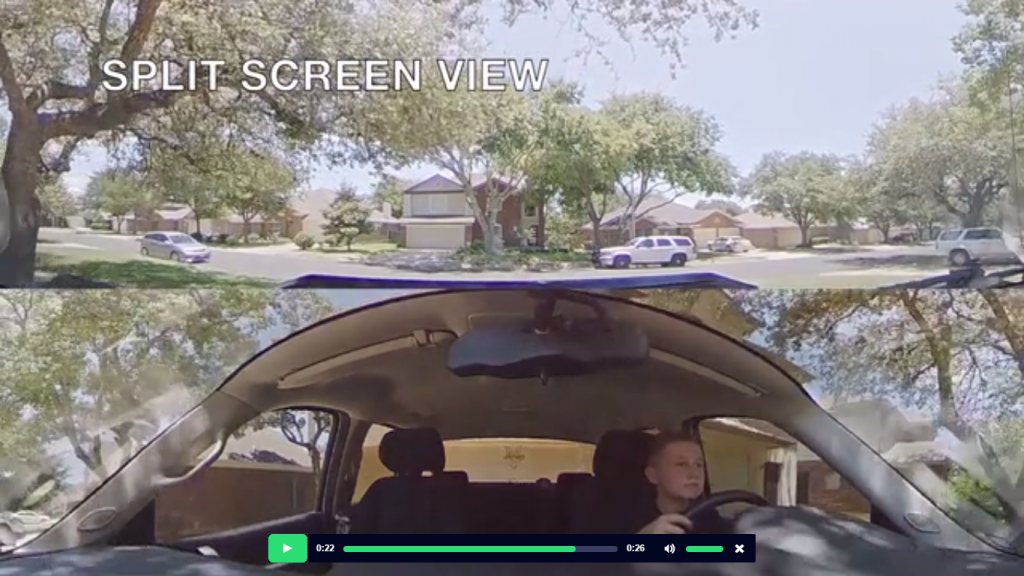 Secure360 is a 360 degree dashcam