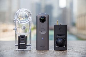 Ricoh Theta V (4K Theta) & Accessories