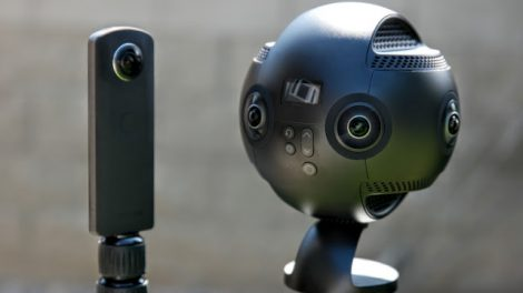 Insta360 Pro video vs. Ricoh Theta S photo