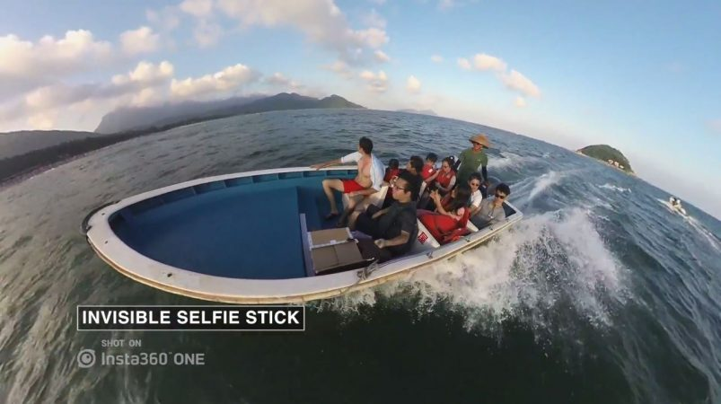 invisible selfie stick