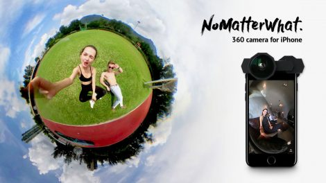Take 6K 360 photos for iPhone 7 with NoMatterWhat, a $40 lens adapter