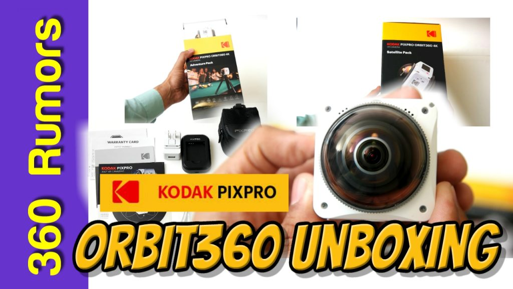 Orbit360 4KVR360 unboxing