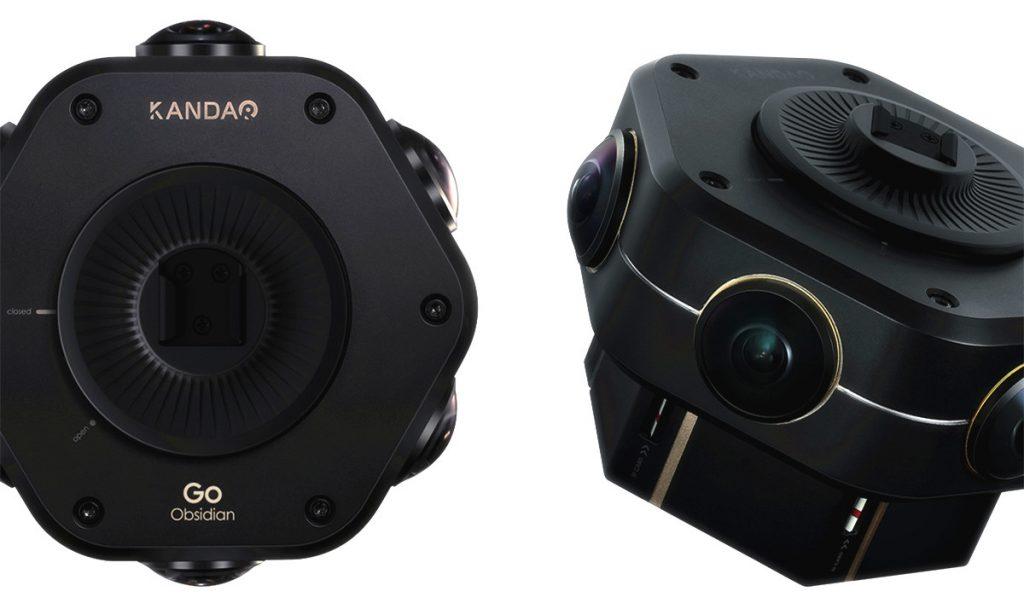 Kandao Obsidian GO affordable professional 4K 3D 360 camera