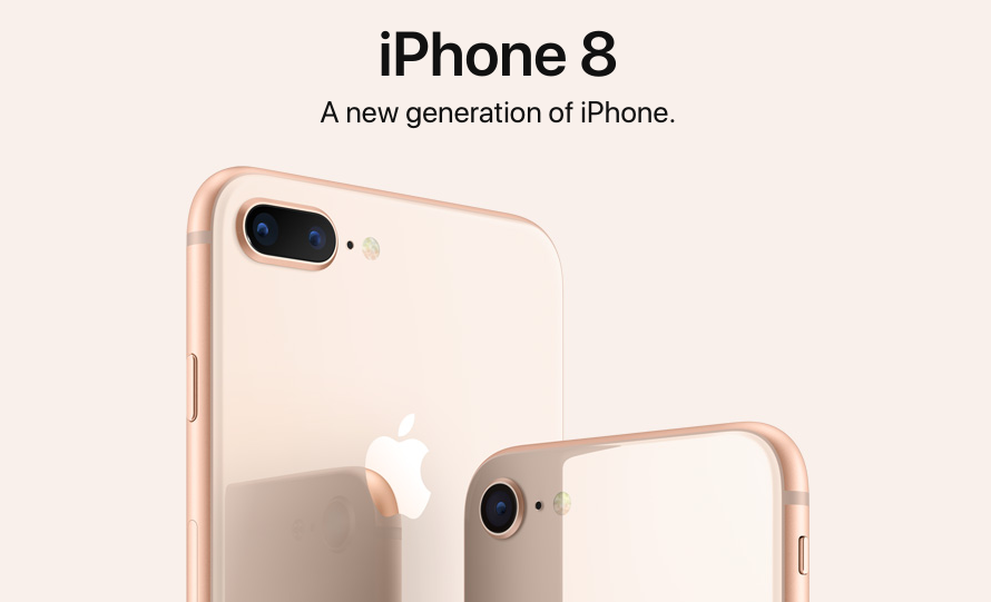iPhone 8 is optimized for augmented reality