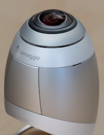 Tamaggo hemispherical 360 camera