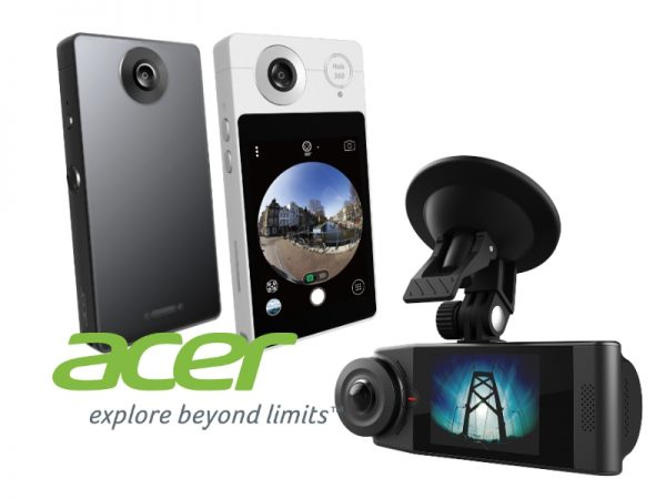 Acer Holo360 and Vision360 360 cameras