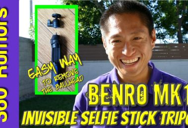 Benro MK10 invisible selfie stick tripod for 360 cameras