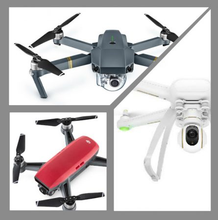 Lowest price on DJI Spark, DJI Mavic, and Xiaomi Drone
