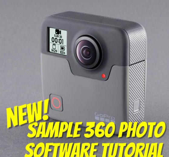 GoPro Fusion now with sample 360 photo and tutorial