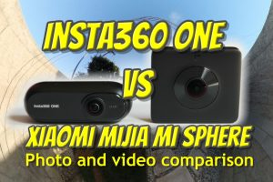 Insta360 ONE vs Xiaomi Mijia MI SPHERE 360 Photo & Video Comparison