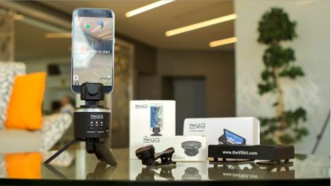 theVRKit captures 8K 360 photos with your smartphone