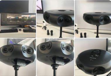 Samsung 360 Round professional 4K 3D 360 camera