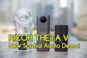 new Theta V spatial audio demo