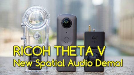 new Theta V spatial audio demo
