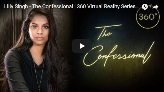 The Confessional 3D 360 video comedy series