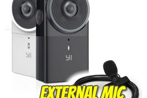Yi 360 VR now supports external microphones