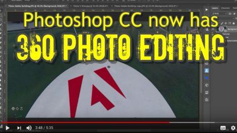 Photoshop CC 360 photo editing