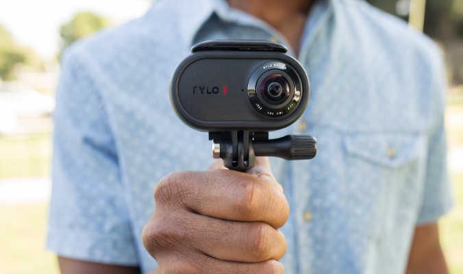 Rylo 360 camera, a compact stabilized 4K 360 camera