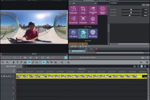 Magix Movie Edit Pro Plus 2018 now features horizon leveling for 360 videos