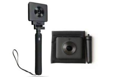 best price for Xiaomi Mijia Mi Sphere 360 camera and selfie stick; Xiaomi 360 camera discount code