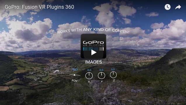 GoPro Fusion will include GoPro VR Plugins for Premiere and After