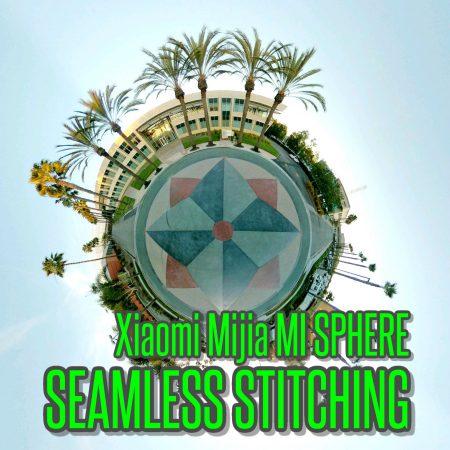 Xiaomi Mijia Mi Sphere seamless optical flow stitching