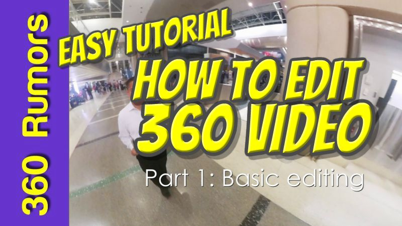 Easy and free tutorial on how to edit 360 videos (with affordable