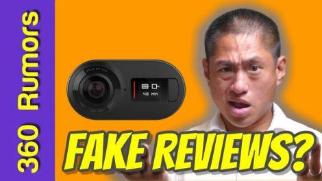 Rylo 360 camera's Amazon reviews: real or fake?