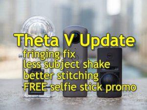 Ricoh Theta V December 2017 update