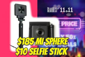 Xiaomi Mi Sphere discount code Chinese black friday sale