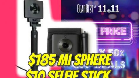 Xiaomi Mi Sphere discount code Chinese black friday sale
