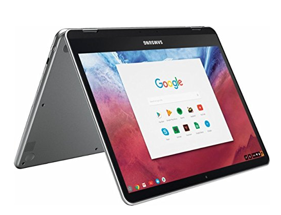 Samsung Chromebook Plus and Chromebook Pro can convert to a tablet