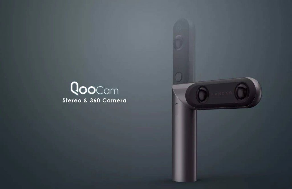 Kandao Qoocam is a 360 and 3D camera