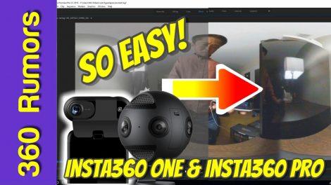 Insta360 ONE and Insta360 Pro log mode tutorial