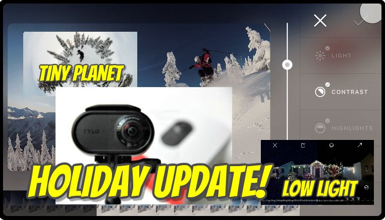 Rylo camera holiday update makes big improvements