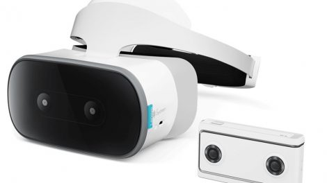 Lenovo Mirage Solo VR headset and Mirage VR180 camera