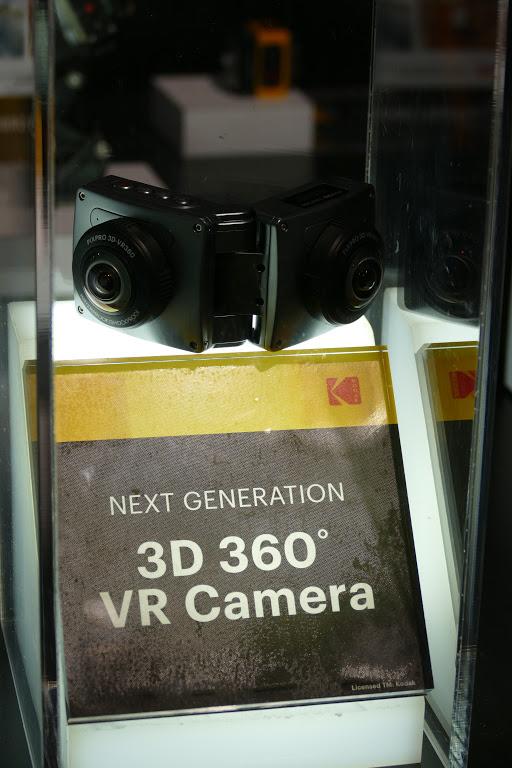Kodak PIXPRO's foldable 3D 360 VR camera