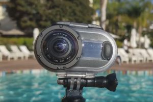 Rylo Adventure Case is a waterproof housing that protects the Rylo from scratches