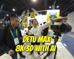 Detu Max 8K 3D 360 camera with AI