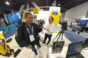 Detu Max 8K 3D 360 camera featured at CES 2018