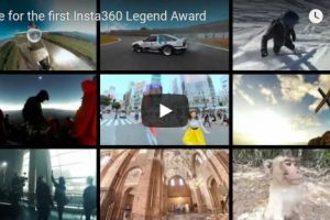 Insta360 Legend award