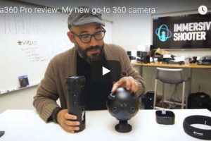 Immersive Shooter reviews Insta360 Pro