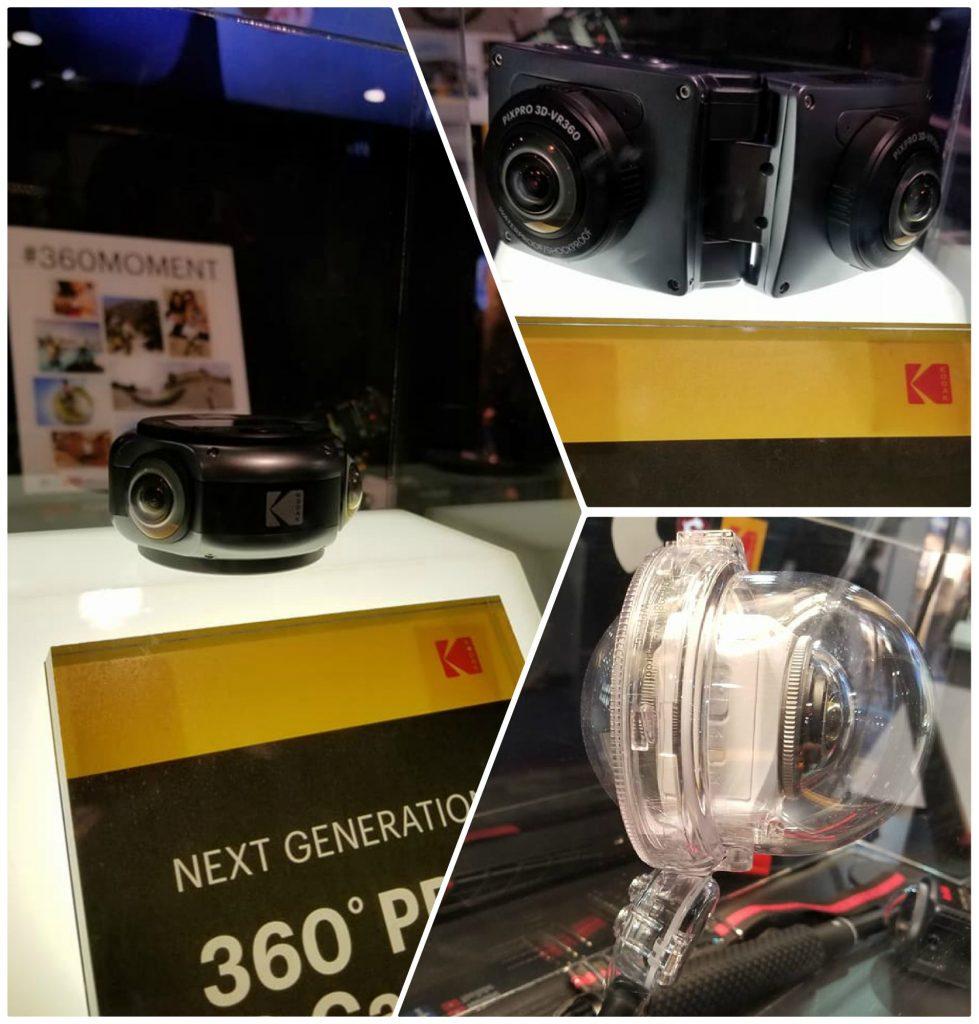 CES 2018: Kodak PIXPRO announces 8K 360 camera and foldable 3D 360