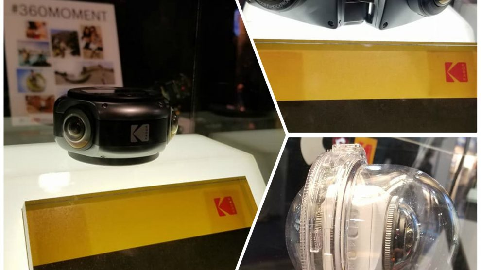 CES 2018: Kodak PIXPRO announces 8K cam and 3D cam.