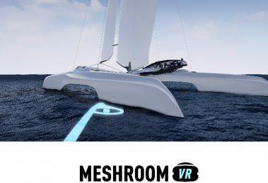 Design validation in VR with Meshroom VR