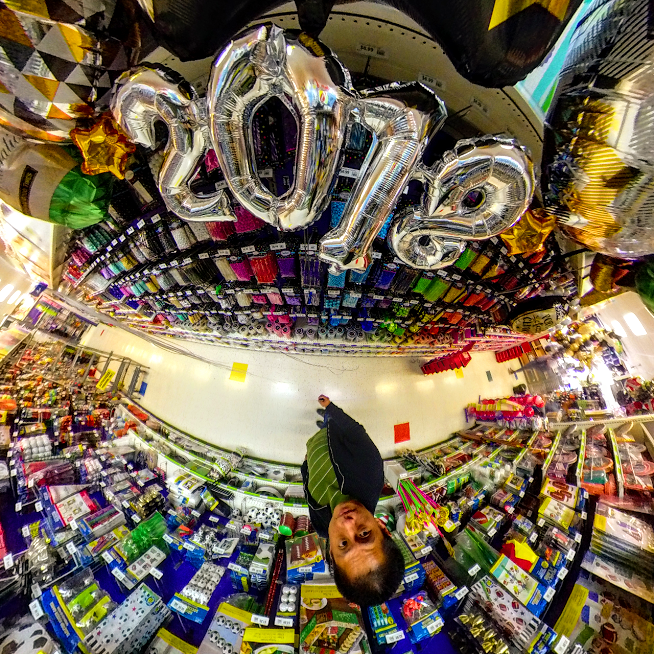 Insta360 Nano S tiny planet (minor postprocessing)